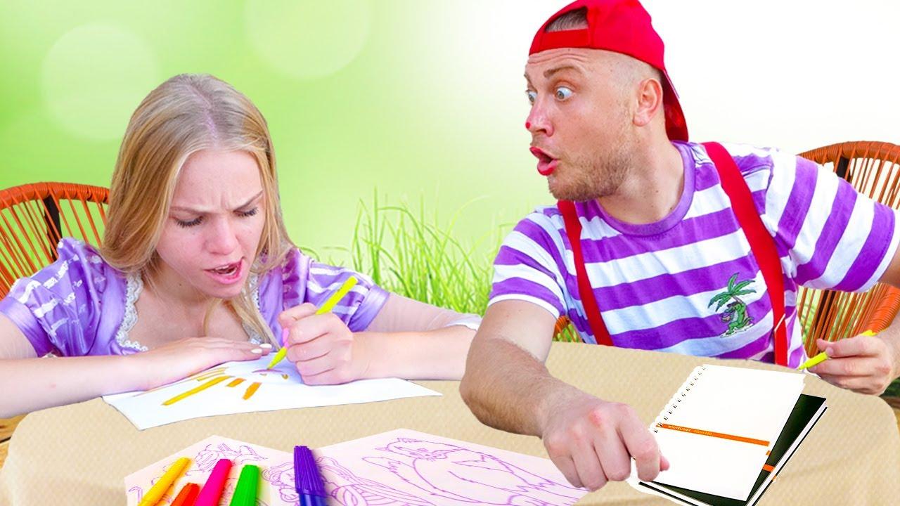 Мишаня шутит и играет копирует всех для детей