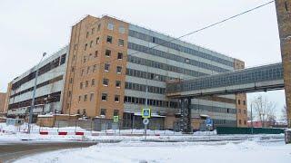 Заброшенный завод ЗиЛ