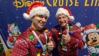 Welcome Aboard the Very Merrytime Disney Wonder Cruise