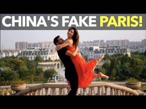 China's Fake Paris!