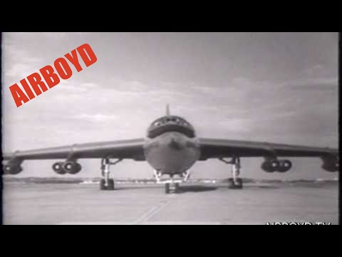 Convair YB-60 Bomber Introduced (1952)