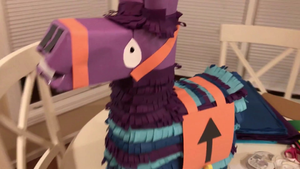 Making A Loot Llama Pinata For My Niece Abby S Birthday Youtube
