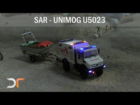 Unimog U5023 SAR-Wasserrettung | RC 1:87