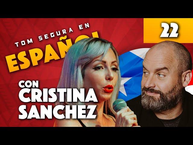 Ep. 22 con Cristina Sanchez | Tom Segura en Español (ENGLISH SUBTITLES)