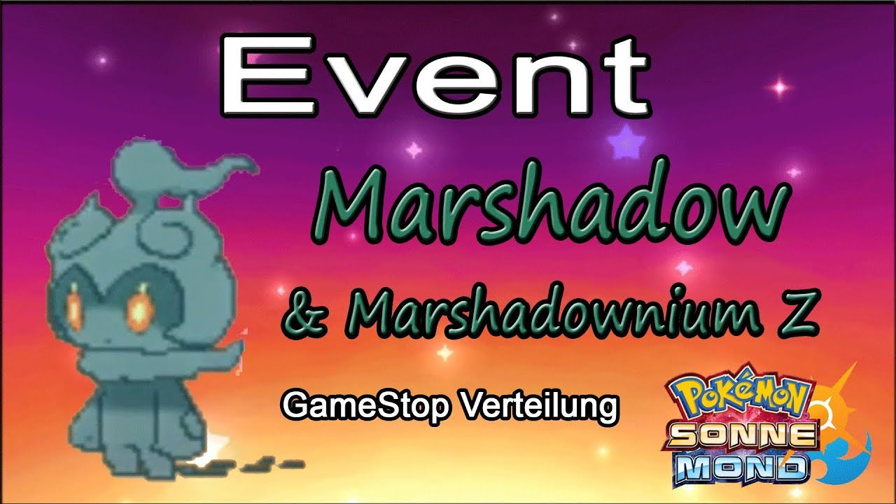 pokemon mond events