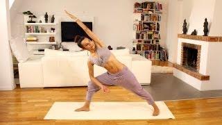 Core Power: Yoga Programm für sexy Bauch und schlanke Taille - Mittelstufe