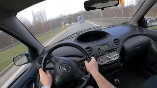 2003 Toyota Yaris (1.0 I 16V 68 HP)   POV Test Drive