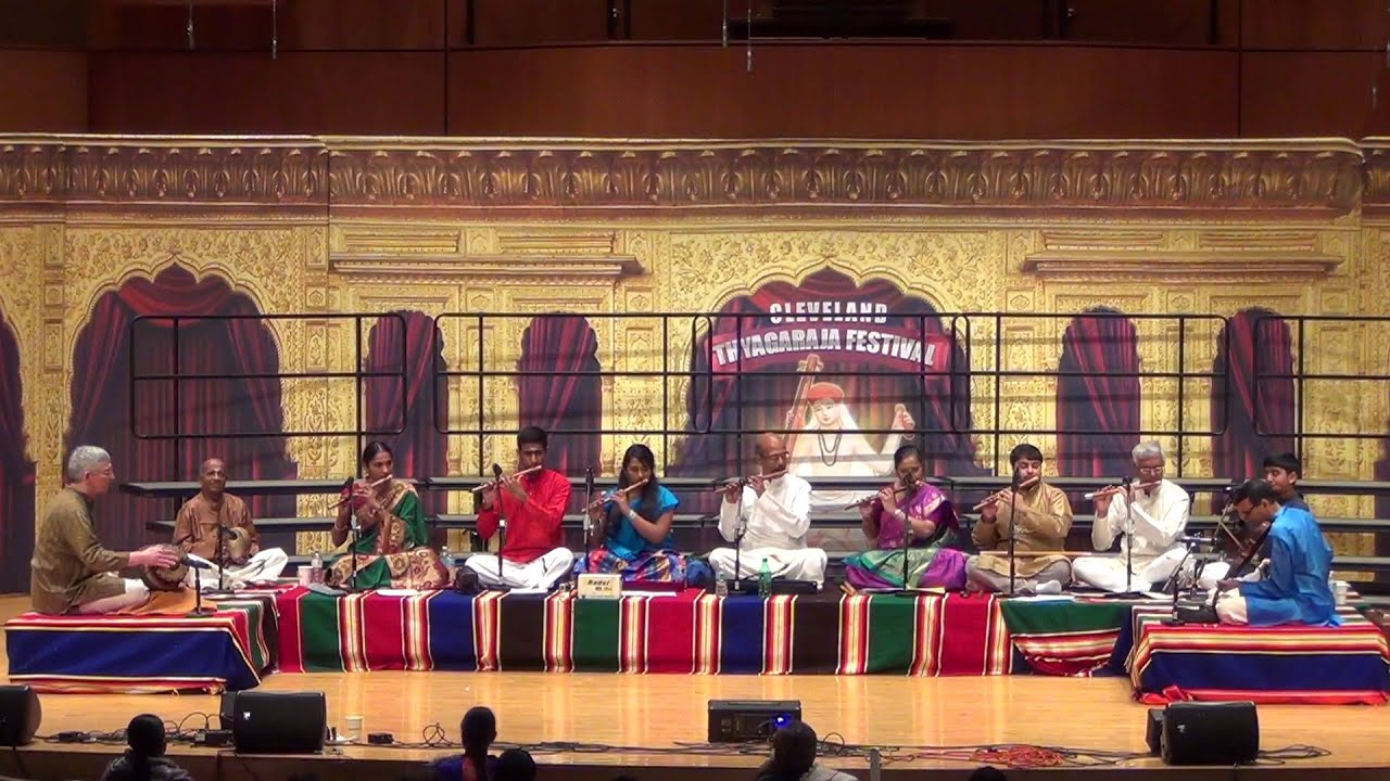 Dr  N  Ramani Memorial Concert @ Cleveland Thyagaraja Aradhana 2016