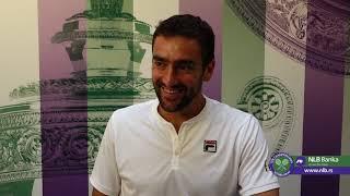 Wimbledon 2019.   Marin Čilić Nakon Plasmana u Drugo Kolo   SPORT KLUB Tenis