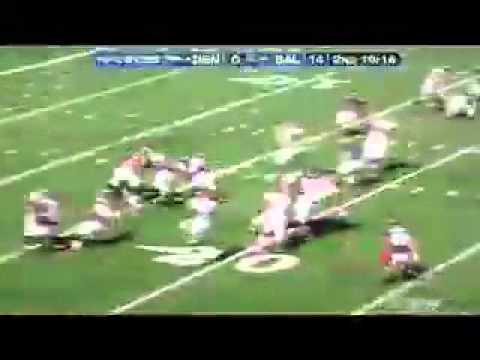 Biggest/Best Hits in the 2010 NFL Season