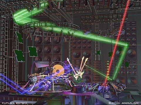 Animusic - Future Retro GOLD remix