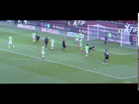 Salif Sane | Hannover 96 | Amazing Goal against Wolfsburg [Bicyclekick]