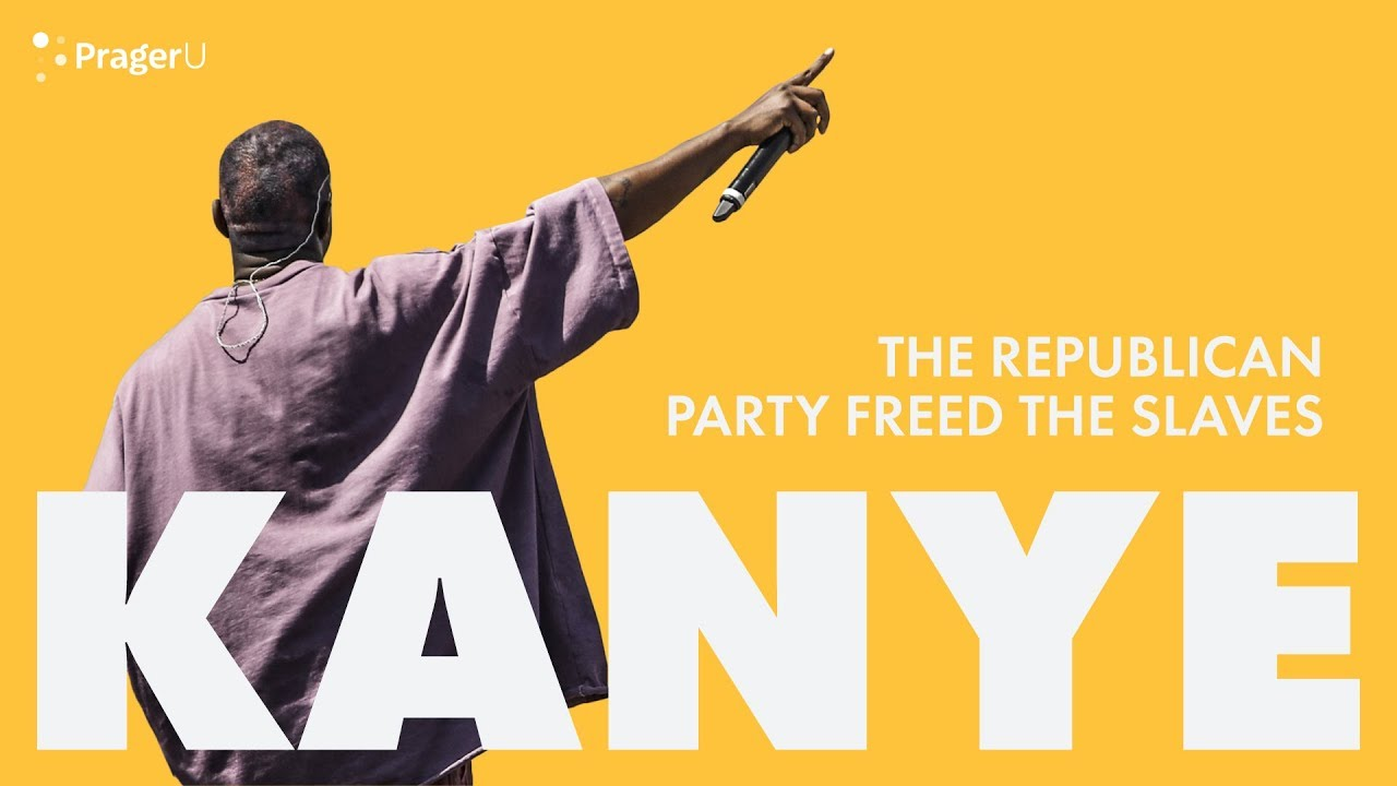 Kanye: The Republican Party Freed the Slaves