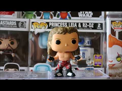 WWE The HeartBreak Kid Shawn Michaels Funko Pop #RAW Unboxing Review Walgreens Exclusive