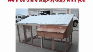 Low Cost Chicken Coop Plans