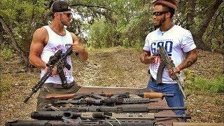 AR-15 против автомата Калашникова, что л...