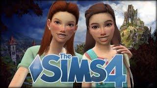 The Sims 4  Przygody Tosi i Zosi  z Oską #3 - Kurnik Babci Jadzi