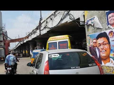 Coimbatore, Old Passport office to Gandhipuram Flyover Streetview