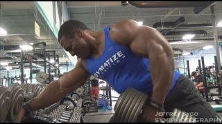 Lawrence Ballenger Shw Bodybuilder Trains Back Going Into Nationals
