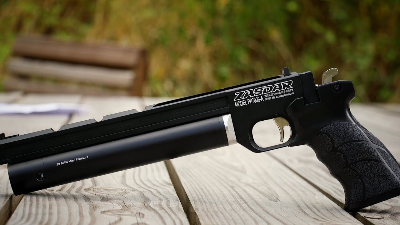 REVIEW: PP700 SA Air Pistol - UK Legal Only Just