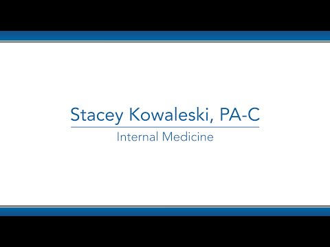 Stacey Kowaleski, PA-C video thumbnail