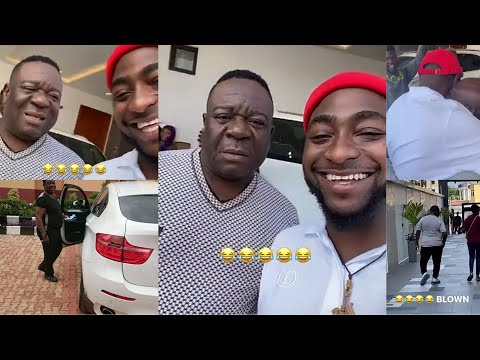 Mr Ibu Visits Davido in Banana Island and Gets a Huge Surprise Gift From OBO in The End