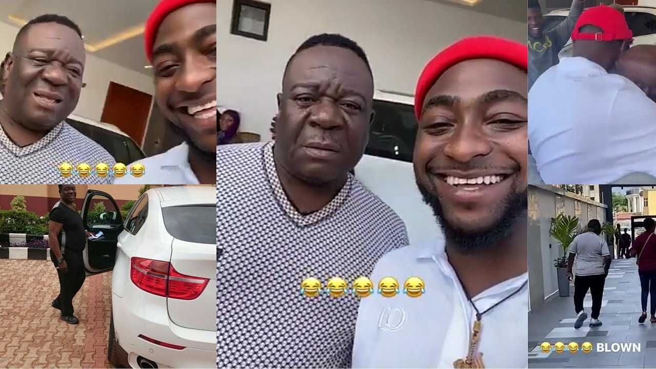 Download Mr Ibu Visits Davido in Banana Island and Gets a Huge Surprise Gift From OBO in The End