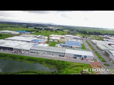 BODEGAS/ Funza Celta Trade Park VIDEO DRONE 1- Metroarea Inmobiliaria Bogota/ Colombia