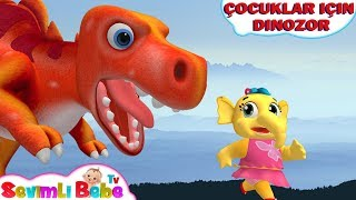 Dinozor Parmak Şarkısı   Bebekler İçin Eğlenceli Şarkı   Dinozor Çocuk Şarkıları   Sevimli Bebe TV