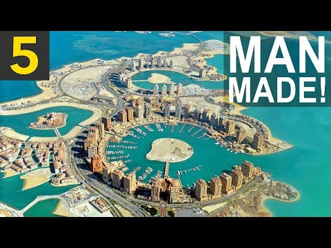 5 UNBELIEVABLE Man Made Islands