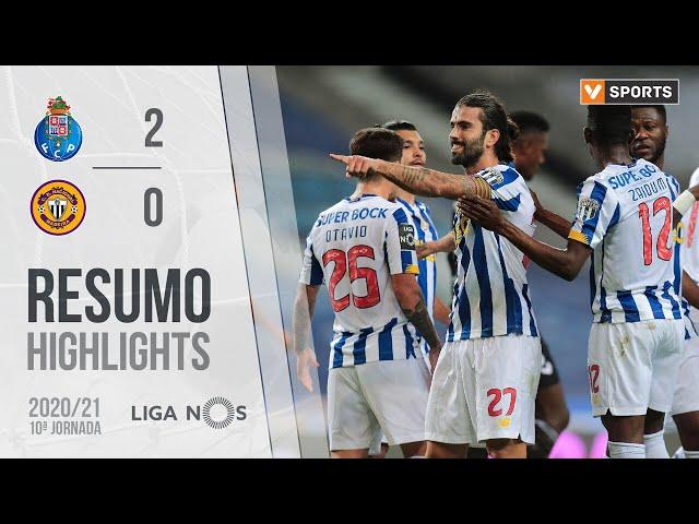 Highlights | Resumo: FC Porto 2-0 CD Nacional (Liga 20/21 #10)