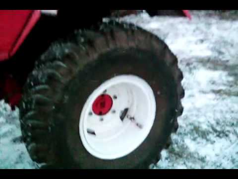 ДОНовские колеса на Т-25. - YouTube
