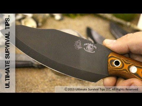 WOW! Best Wilderness / Bushcraft Survival Knife? - David Discovers Habilis Bushtool Survival Knife
