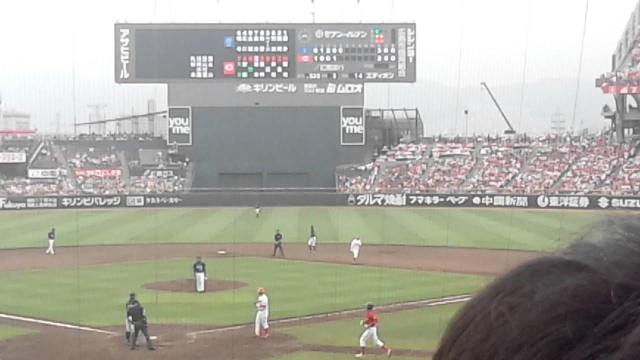2012年6月30日広島東洋カープ 飛...