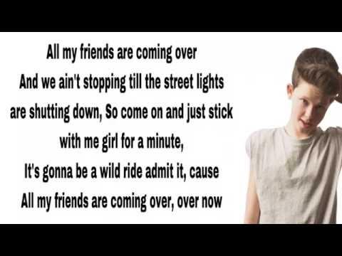 Jacob Sartorius - All My Friends (Lyrics)