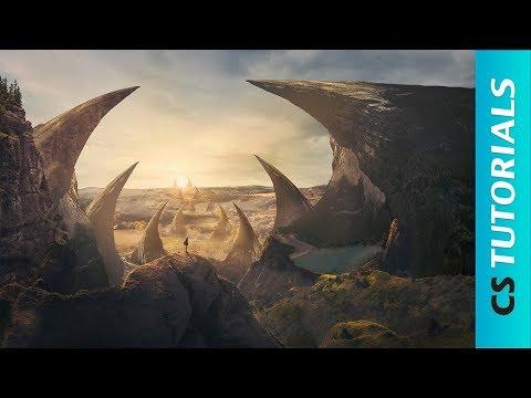 Fantasy Land - Photoshop Manipulation Tutorial (#Photoshop)   CreativeStation