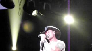 Tim McGraw Red Rag Top