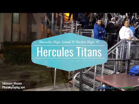 HERCULES HIGH SCHOOL VS HARKER HIGH NCS 3RD ROUND PLAYOFF FOOTBALL