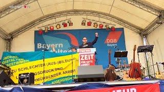 Nie wieder Rassismus, nie wieder Krieg! - Fabian Körber, ver.di-Jugend