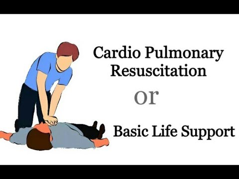 CPR Cardio Pulmonary Resuscitation / Basic Life Support in Hindi