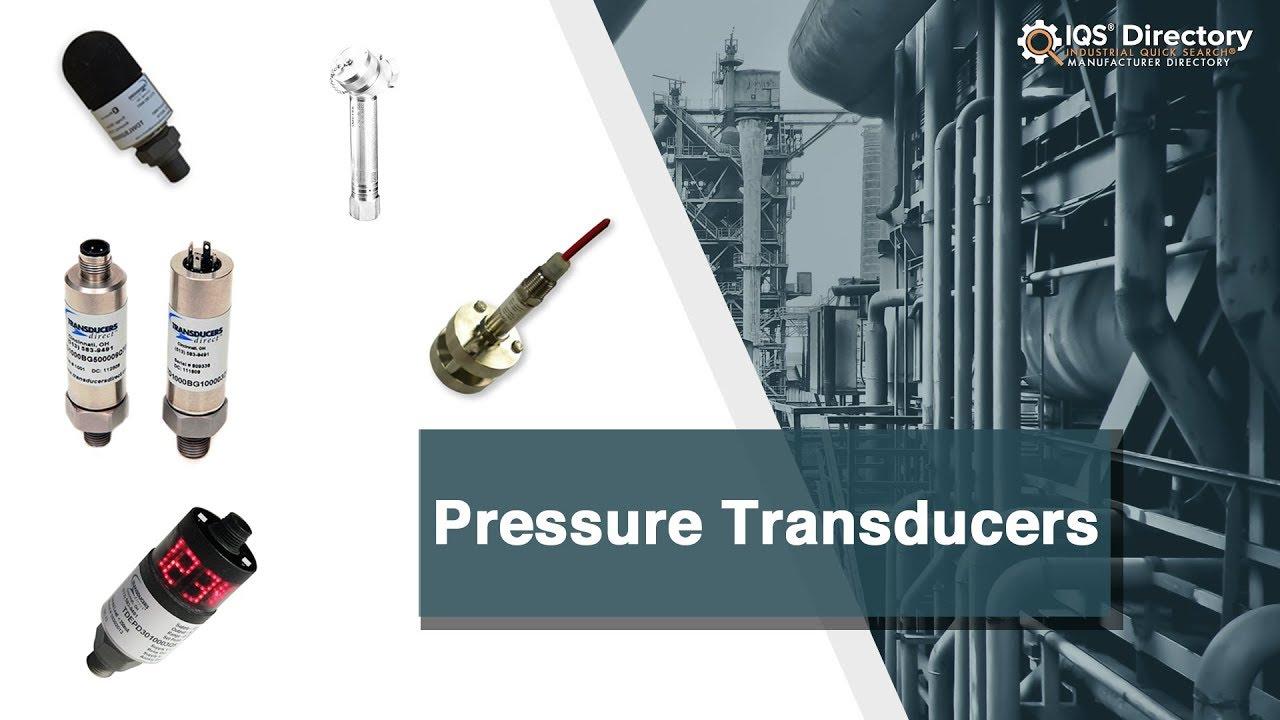 Pressure Transducer Manufacturers Suppliers