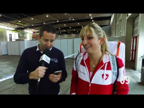 Quick question challenge with Timea Bacsinszky (SUI)
