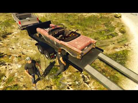 Law Breakers Rp.Picking up the 1957 Chevy BelAir & starting the Restore(Restoration)