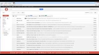 (Güncellendi 6/7/13)Gmail bir Filtre Oluşturma