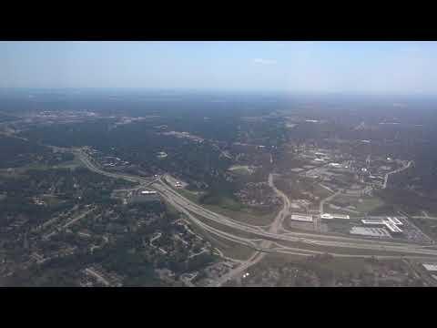 Takeoff from St. Louis Lambert International Airport to NY LaGuardia