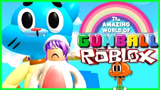 ROBLOX LET'S PLAY THE AMAZING WORLD OF GUMBALL OBBY | RADIOJH SPIELE