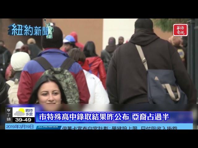 華語電視 紐約新聞 03/19/2019