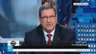 الحبيب الصيد: تونس مستعدة لمواجهة أي تطور أمني في ليبيا