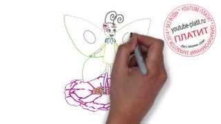 Лунтик онлайн  Как просто за 45 секунд нарисовать Лунтика поэтапно карандашом(СМОТРЕТЬ МУЛЬТФИЛЬМ ЛУНТИК ОНЛАЙН. Как правильно нарисовать персонажей мультфильма про Лунтика онлайн..., 2014-10-02T14:19:48.000Z)