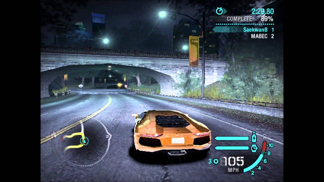 Need For Speed Carbon Lamborghini Aventador Lp700 4 Vs